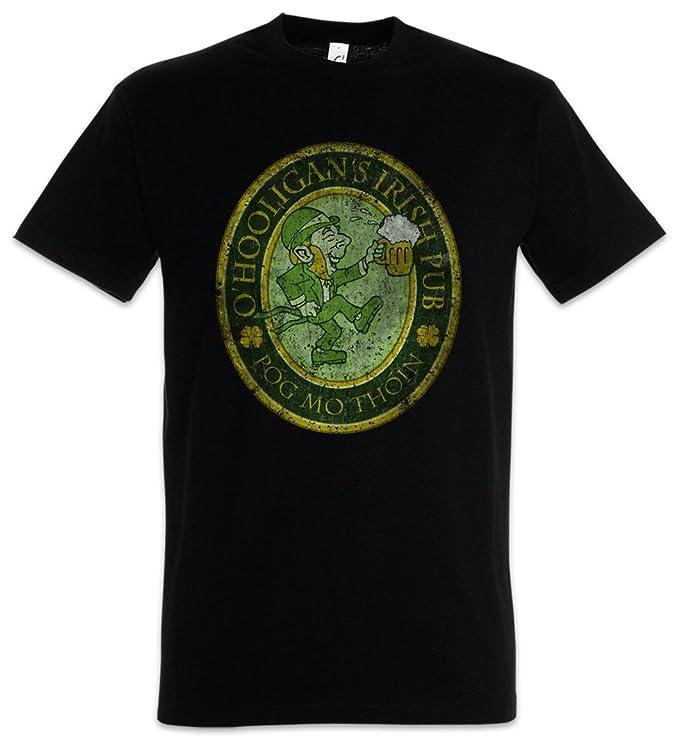 Urban Backwoods O´Hooligans Irish Pub Vintage T-Shirt - Ireland Irland Belfast Dublin Beer Shirt Größen S - 5XL