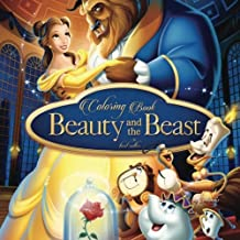 #16 Coloring Book Beauty and the Beast: best seller, stress relief, serenity and relaxation, 100pgs