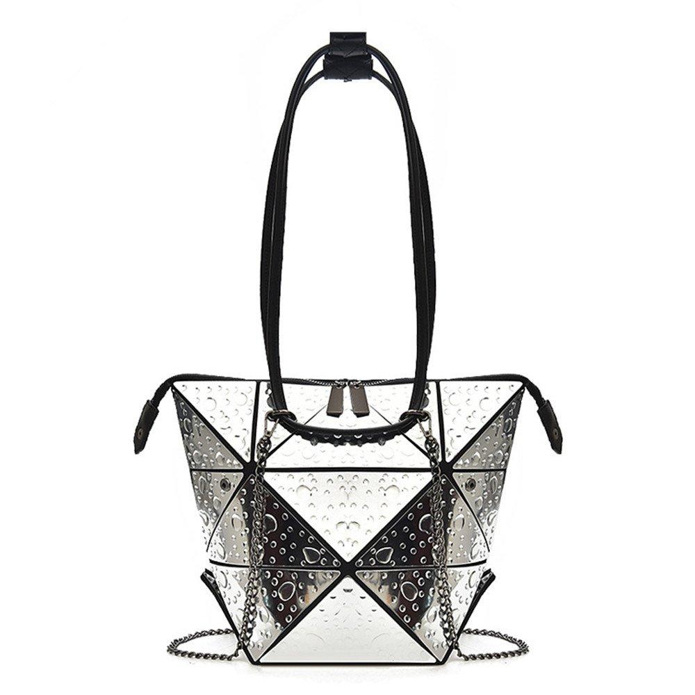 GWQGZ Handtasche Rhombische Kette Neue Mode Mode Mode Trend Damen Mit Reversiblen Schultertasche Ein B07DMYDJ4Z Schultertaschen Üppiges Design 25f905