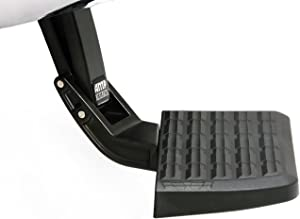 AMP Research 75317-01A Black Bumper Step (BedStep Flip Down)