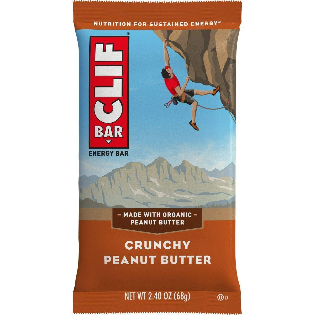 Clifbar Clif Bars - 12 Pack Crunchy Peanut Butter, One Size by Clif Bar