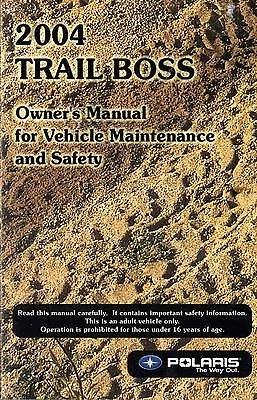 Read Online 2004 POLARIS TRAIL BOSS P/N 9918757 ATV OWNER MANUAL (680) pdf