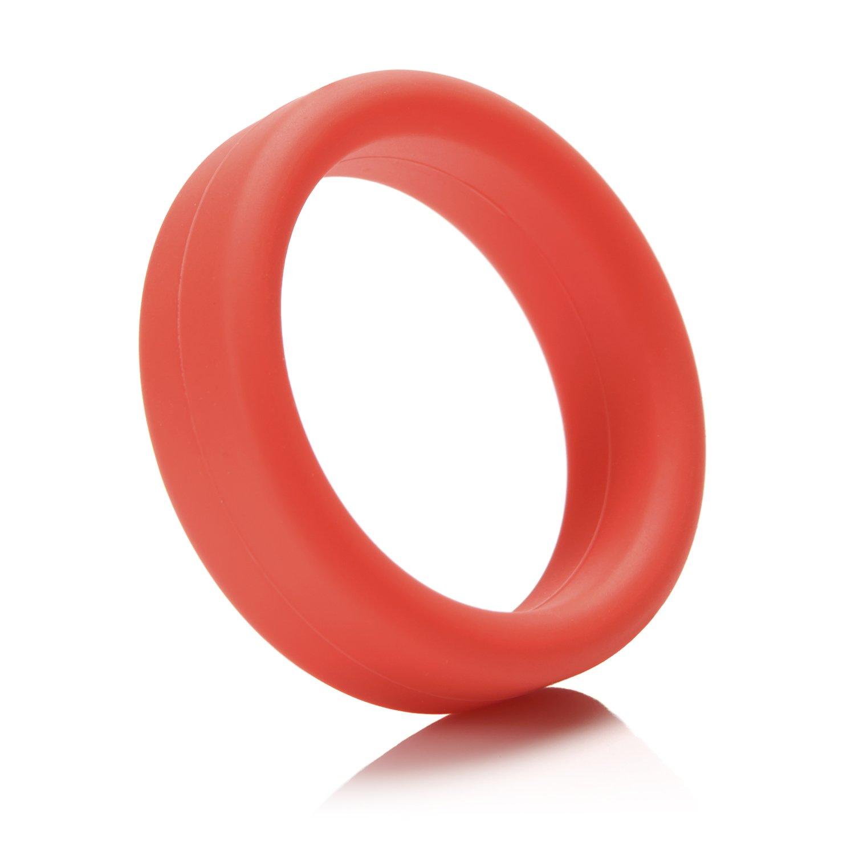 Tantus Super Soft C-Ring - Ultra-Premium Silicone Cock Ring - Red