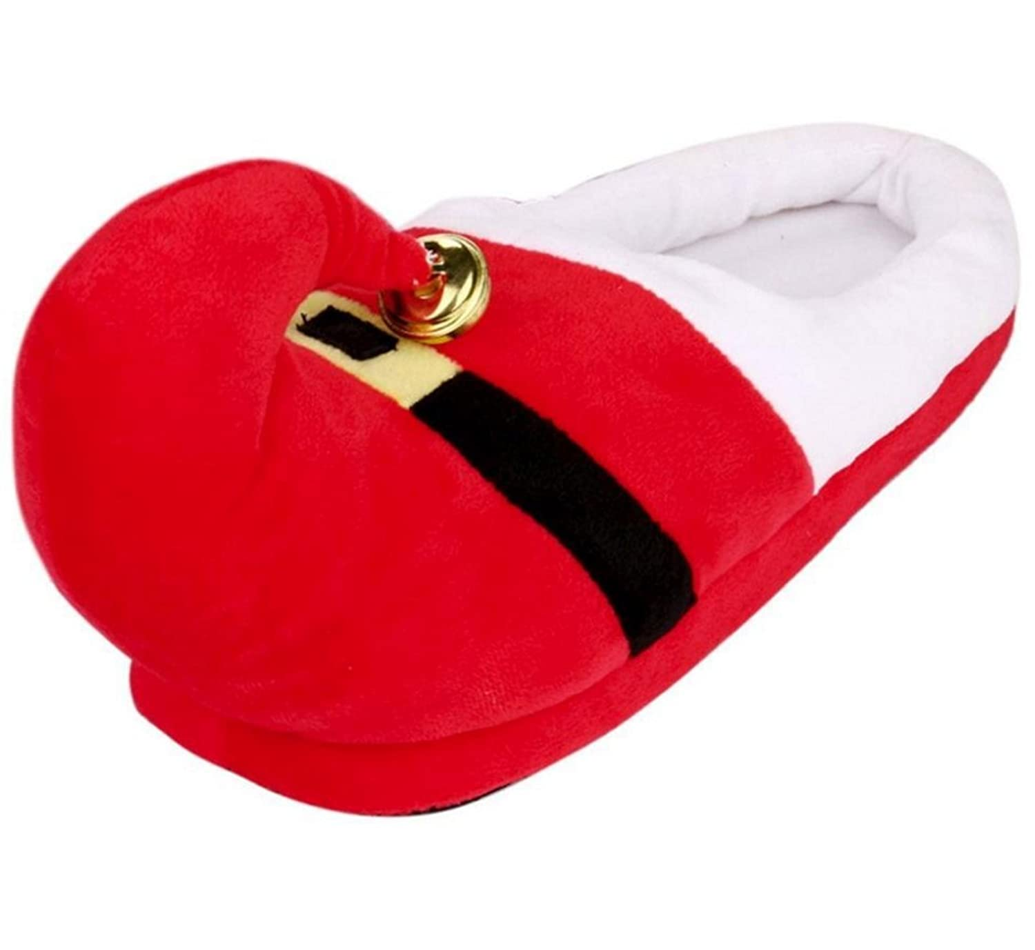 3D Funny Home Slippers Women Men Kids Christmas Costume Santa Elf ...