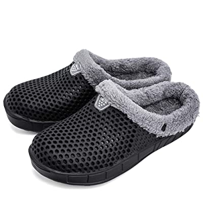 Cooga Women's House Slippers Sticking Lining Warm Fleece Clogs | Slippers