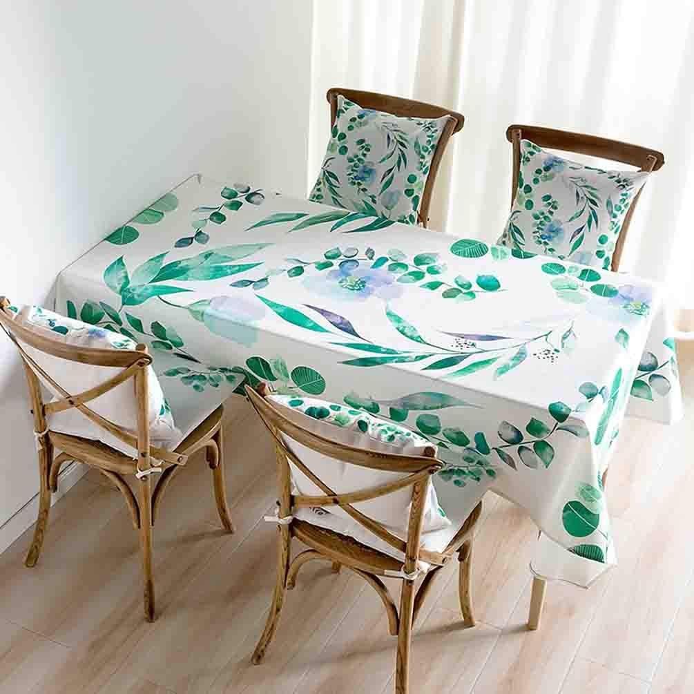 洗えるテーブルクロス テーブルクロス模造コットンリネン長方形のコーヒー布ダイニングテーブルクロス (Color : I)  I B07SCV9NM6
