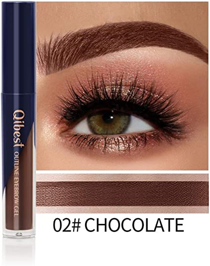 Crema para cejas Onkessy Grueso Impermeable A prueba de manchas Tintado Cejas Mascara Maquillaje de cejas