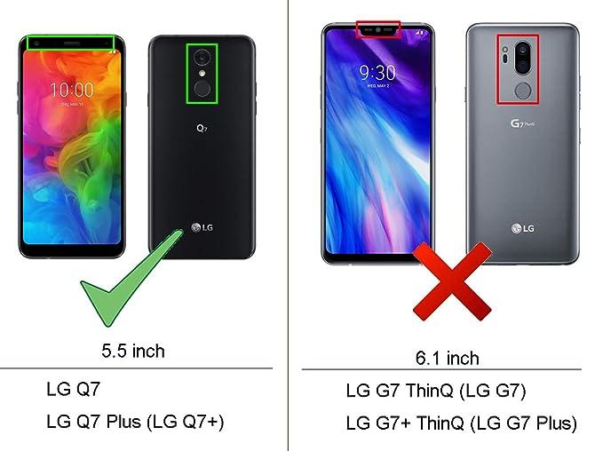 Amazon.com: Funda para LG Q7, funda para LG Q7 Plus, funda ...