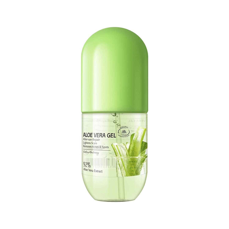 Aloe Vera Gel, 92% Aloe Vera Moisturizing Gel, Hydrating Skin Soothing Aloe Gel, Organic Aloe Vera Plant for Face, Body, Hair, Sunburn, Sensitive Skin, 9.45Oz/280Ml