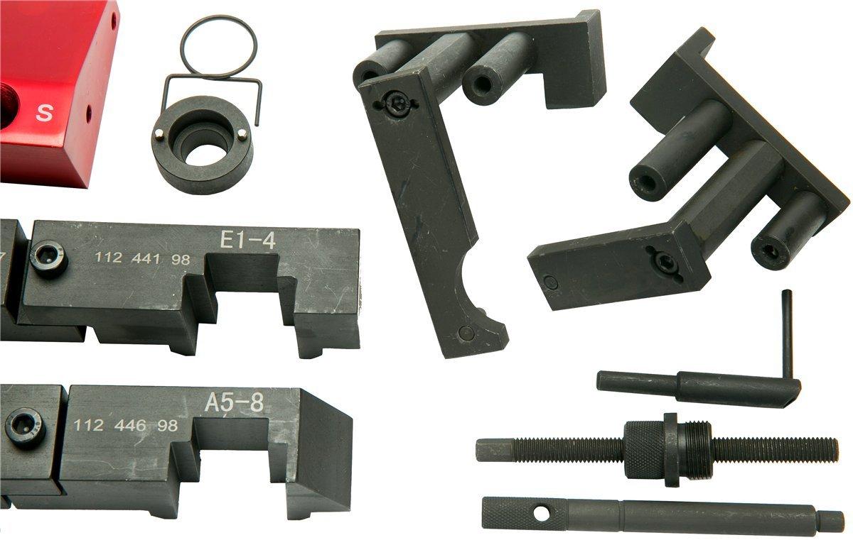 FreeTec Nockenwellen Arretierung Blockierwerkzeug Vanos Spezialwerkzeug Kompatibel mit BMW M60//M62//M62TU