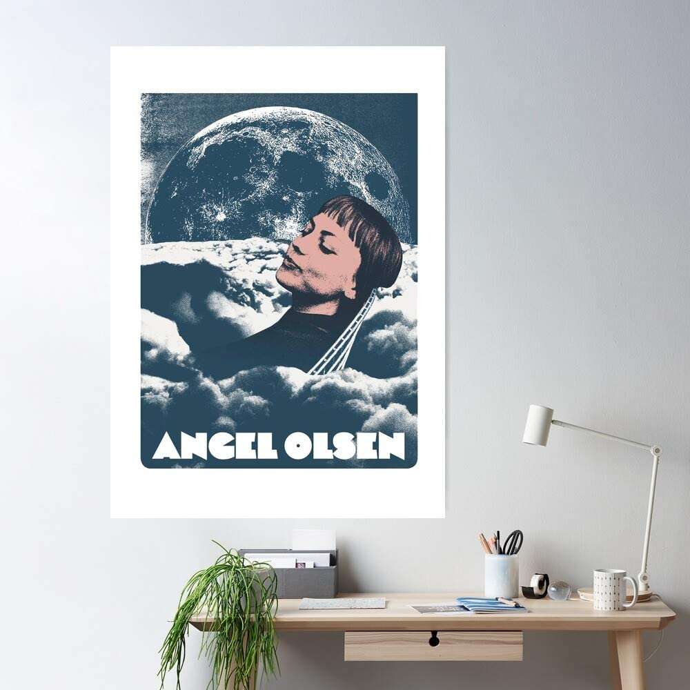 Amazon Com Kineticards Rock Angel Alternative Olsen Angelolsen Folk Indie Home Decor Wall Art Print Poster Posters Prints
