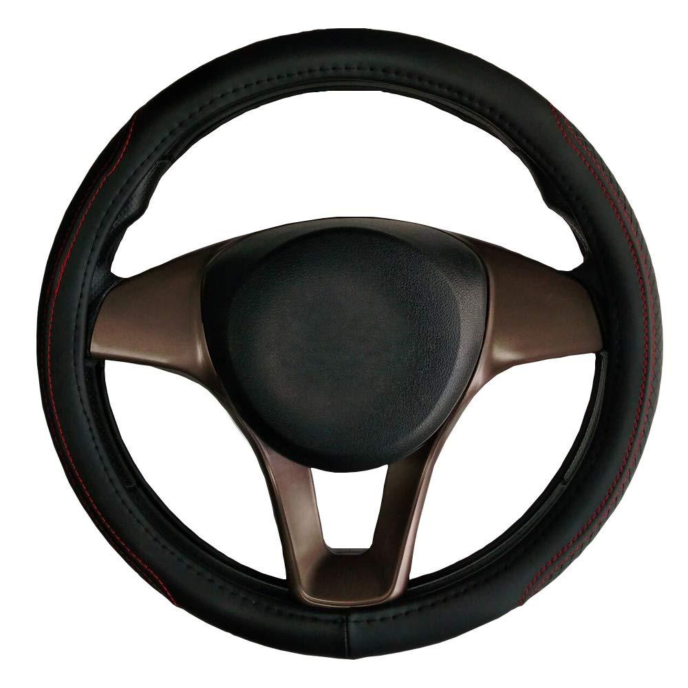 Giulietta 147 156 159 Cache pour guidon de voiture en cuir Noir 38 cm