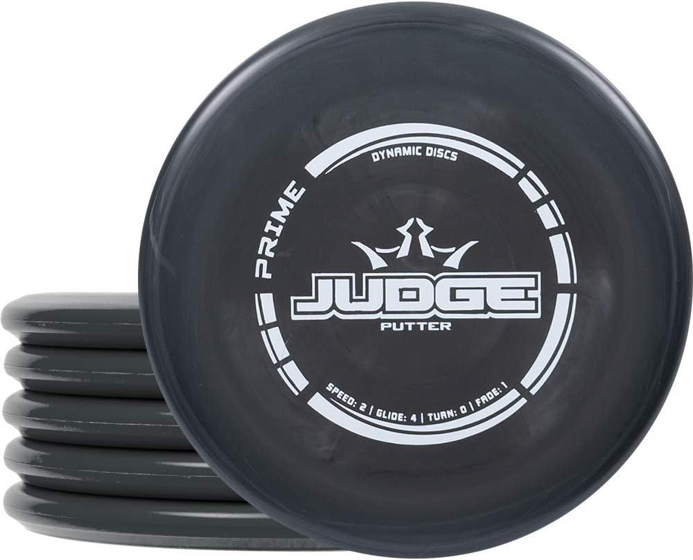 Dynamic Discs Judge Disc Golf Putter Five Pack