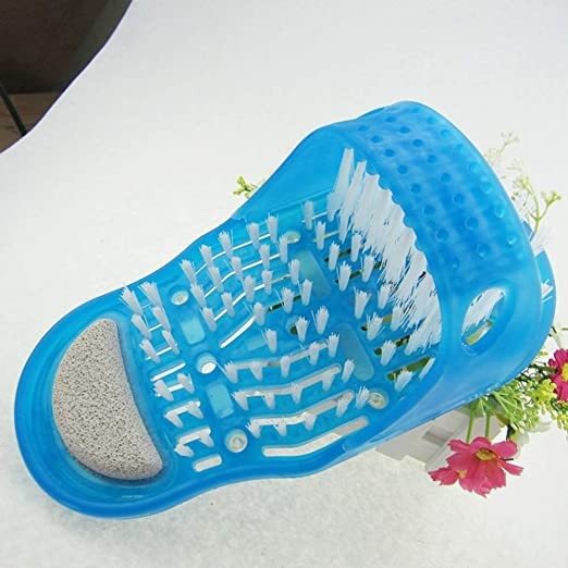 Amazon.com: Masajeador de pies para la ducha, limpiador de ...