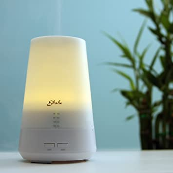 Amazon.com: shalu eléctrico ultrasónico Mist Aromaterapia ...