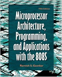 ramesh gaonkar 8085 microprocessor