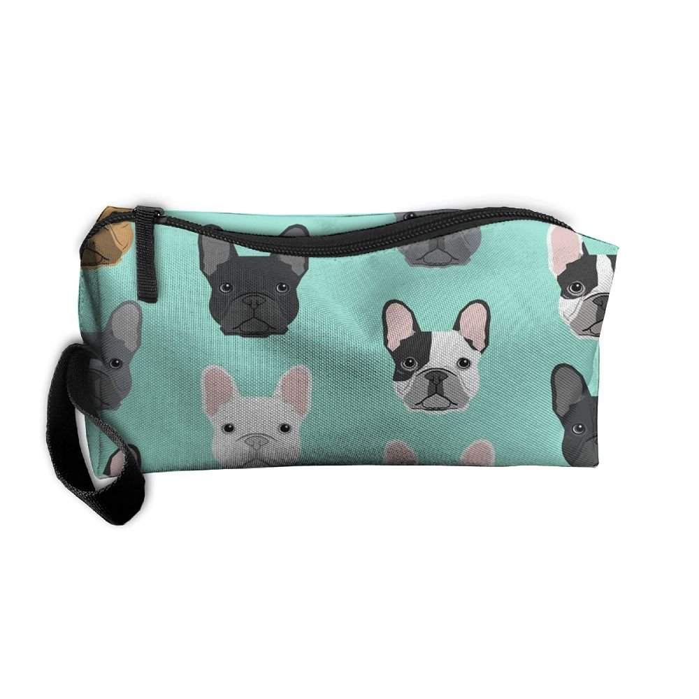 Travel Makeup French Bulldog Sweet Dog Puppy Puppies Dog Cosmetic Pouch Makeup Travel Bag Purse Holiday Gift For Women Or Girls Styleforyou