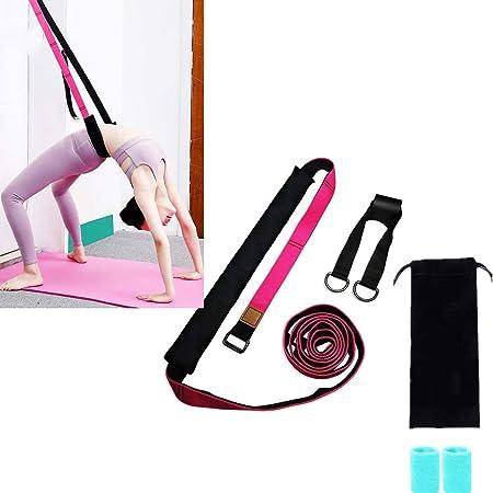 OhLt-j Cinturón de Yoga con presillas: muévete libremente ...