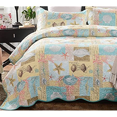 6112GQ2Hc6L._SS450_ Coastal Bedding Sets and Beach Bedding Sets