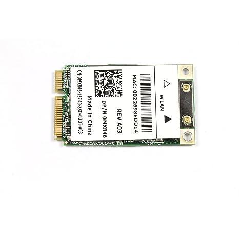 Amazon.com: DELL XPS M1330 WiFi Tarjeta inalámbrica mx846 ...