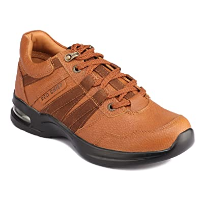 Redchief Men's Leather Boots Men's Boots at amazon