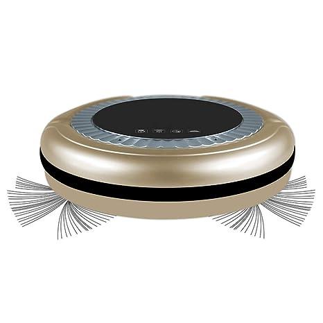ZRYstore Robot Limpiador Inteligente de Piso automático Limpieza de casa robótica barredora de aspiradora