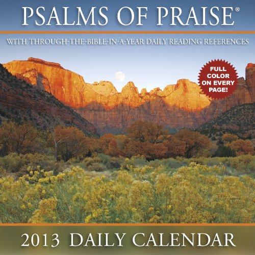 Psalms of Praise 2013 Calendar
