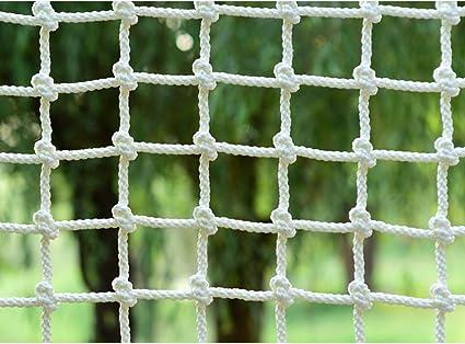 QLGRXWL Red de Estructura de Escalada para niños Adultos Red de protección de Escalera de Cuerda
