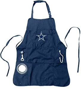 Team Sports America Ultimate NFL Tailgate Grilling Apron, Dallas Cowboys