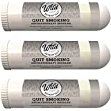Wild Essentials 3 Pack of Quit Smoking Aromatherapy Nasal Inhalers Made with 100% natural, therapeutic grade essential…