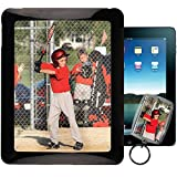 Apple iPad 1 1st Gen PixCase - Picture Frame Case - DIY personalized - Insert photos, change anytime or create custom inserts at PersonalizeItYourself ++ Bonus Photo Keychain ++
