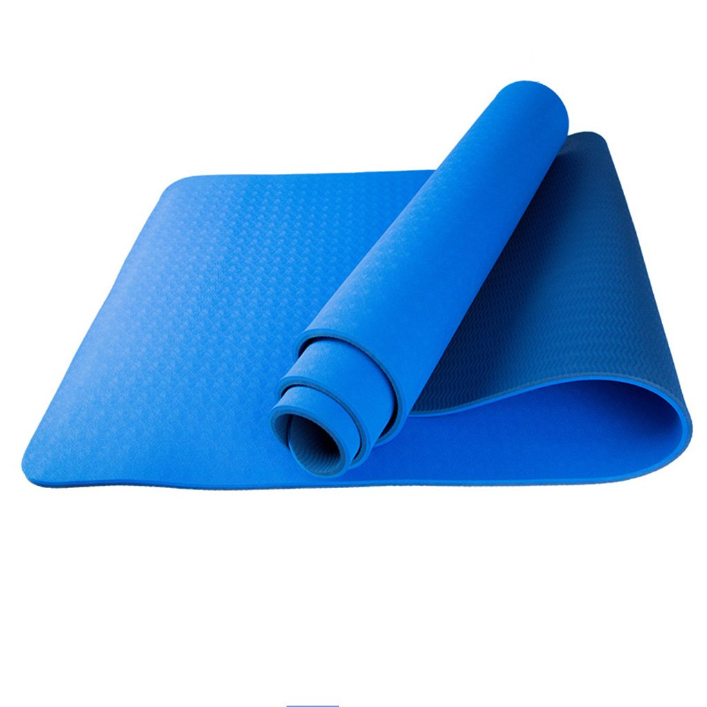 Thickness8mm HCJYJD Tapis de Yoga, Fitness Double-Face Thicken Tapis antidérapant Allonger Le MouveHommest Couverture de Fitness (Couleur    3, Taille   Thickness8mm)