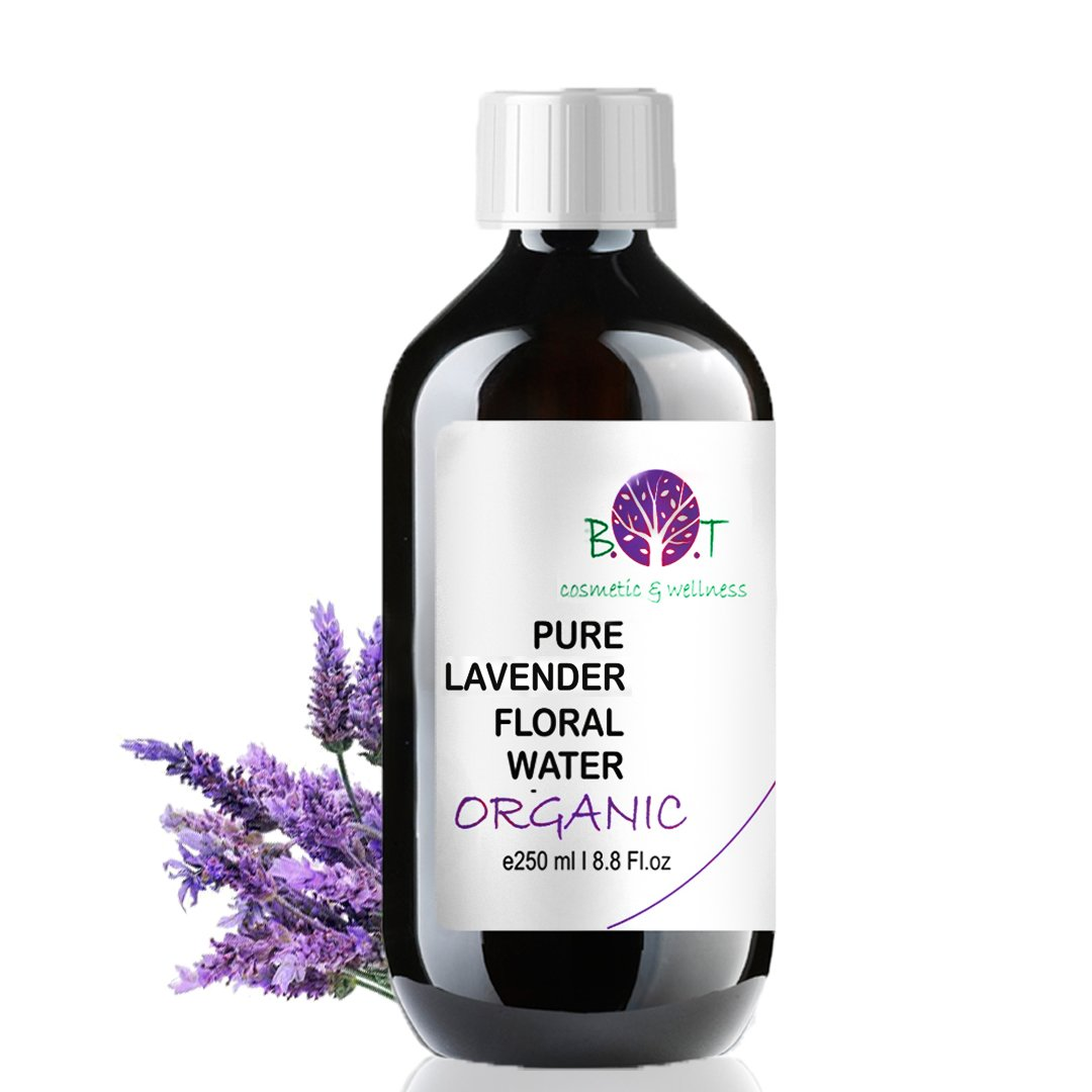 Organic Lavender Hydrosol 250 ml Floral Water 100% Pure Made in France