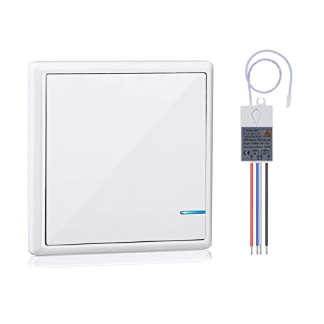 Amazon.com: Wsdcam Kit de interruptor de la luz con receptor ...