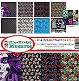 Reminisce DDL-200 Dia De Los Muertos Scrapbook Collection Kit (4 Pack)