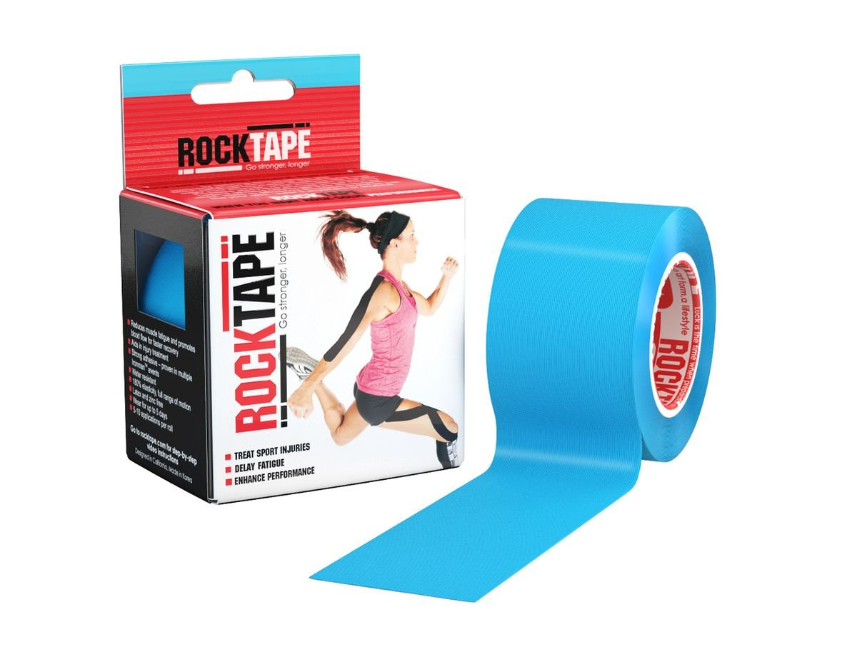 RockTape, Electric Blue, 2'' x 16.4' (5cmx5m)