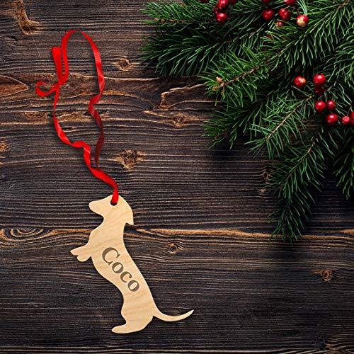 Dachshund dachshund ornament dachshund christmas ornament christmas ornaments dachshund Personalized Dog Doxie sausage dog Wiener Dog .2