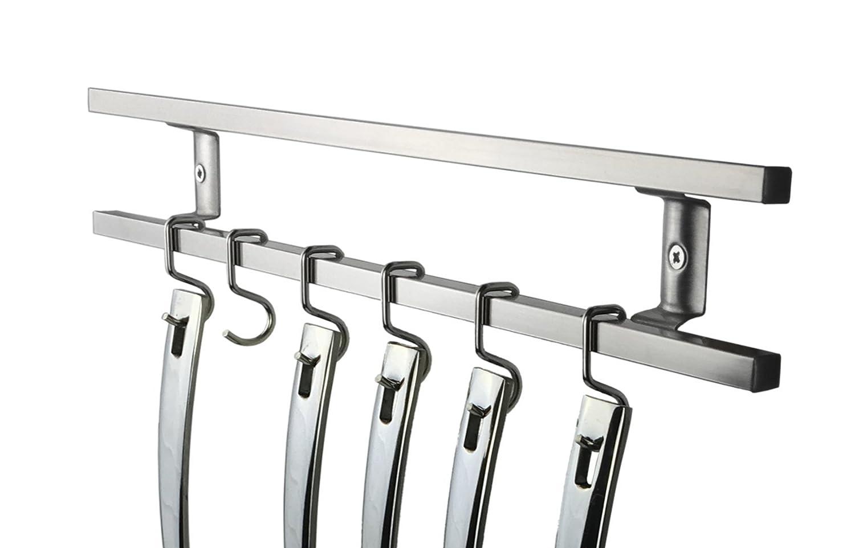 Amazon.com: Porta cuchillos magnéticos de acero ...
