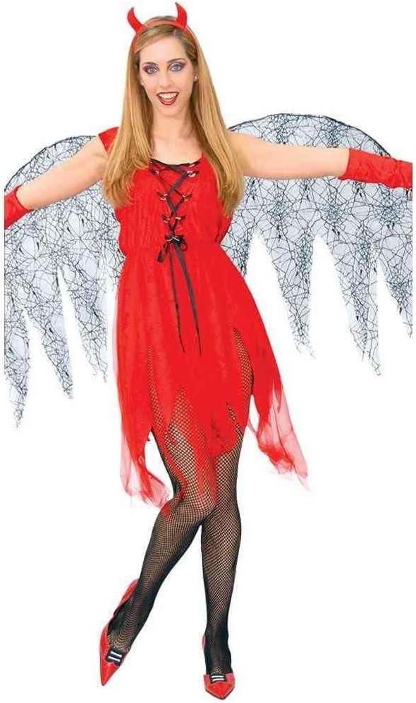 Disfraz de diablesa con alas: Amazon.es: Juguetes y juegos