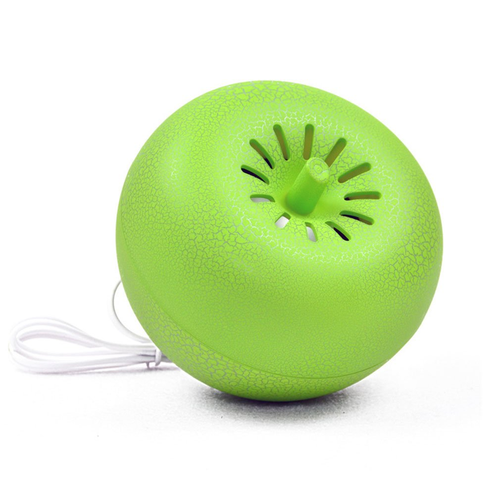 BALLY Newest USB Mini Creative Lovely Multimedia Speaker, Portable Sound Box for Computer/Laptop (Green)