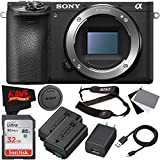 Sony Alpha a6500 Mirrorless Digital Camera (Body Only) International Version (No Warranty) Base Kit