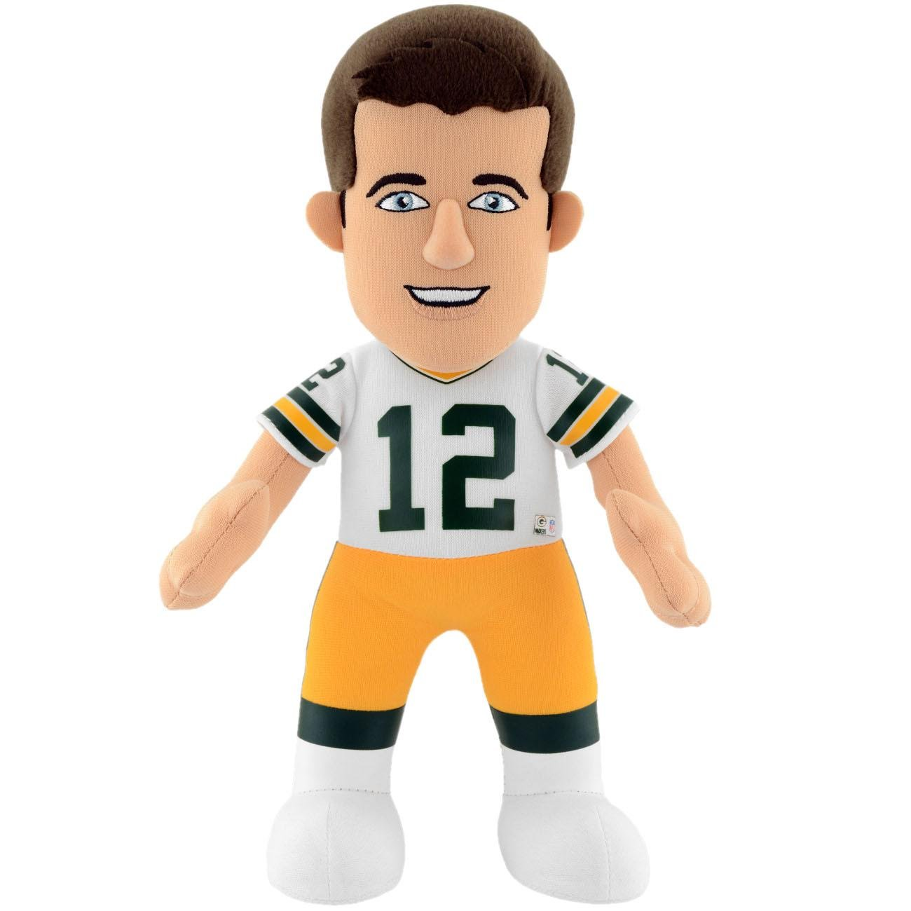 chic Bleacher Creatures NFL AARON RODGERS - Green Bay Packers Plush ...