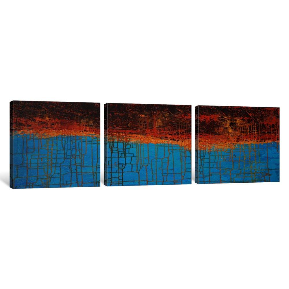 1.5 by 48 by 16-Inch iCanvasART 3-Piece Alpine Chorus Canvas Print by John Van Straalen