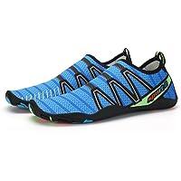 Leaproo Unisexe Chaussures D'Eau Chaussures de Plage Sport Aquatique Nager Surf Yoga Chaussettes Pour Hommes Dame