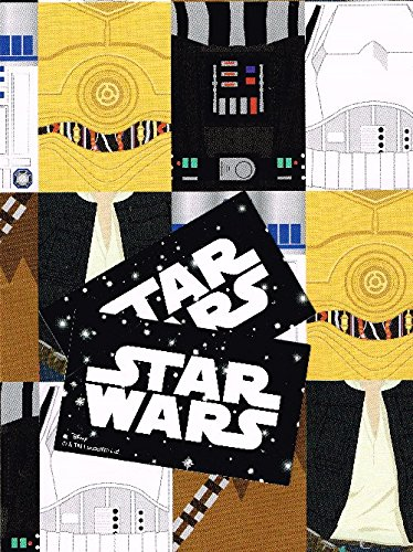 Star wars 2 sheets of gift wrap and 2 gift tags]()