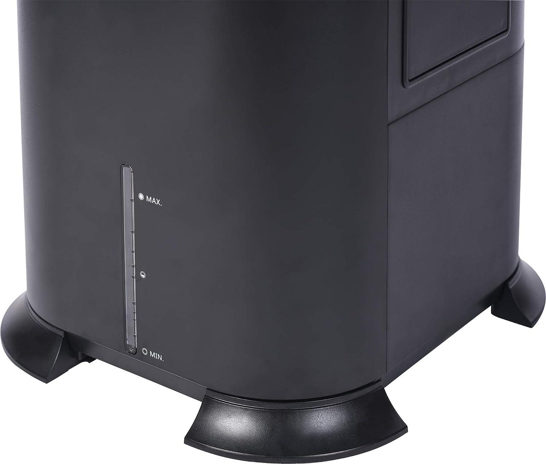Black Honeywell 500 CFM Indoor Evaporative Tower Cooler with Fan