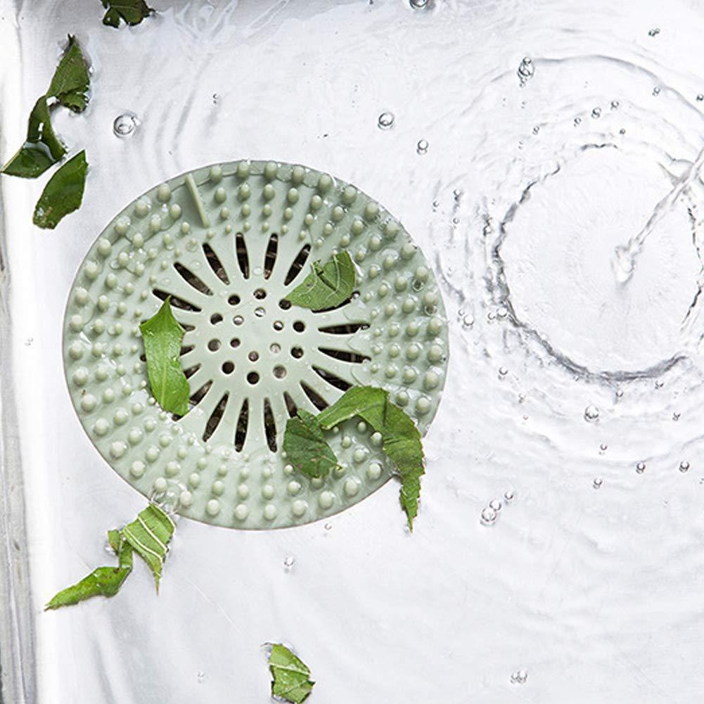 CRAZYON Badewanne Sieb Ablauf Stopper Waschbecken Protektoren Dusche Abflussabdeckung Gummi Haarf/änger f/ür Boden W/äscherei K/üche Bad