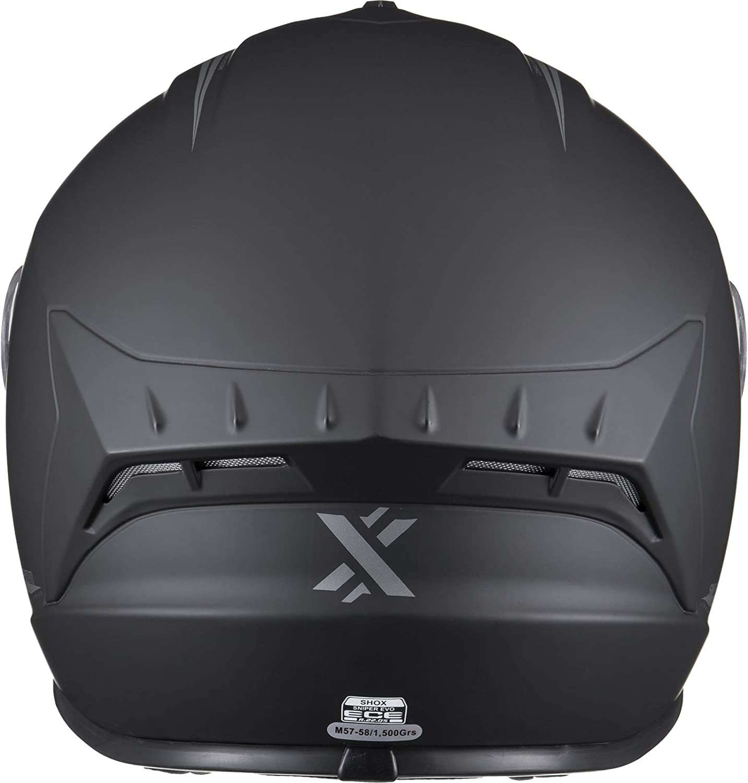 Shox Sniper Evo Solid Motorcycle Helmet L Gloss Black