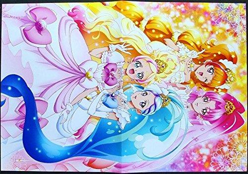 Goプリンセスプリキュア ピンナップポスター キュアフローラ キュアマーメイド キュアトゥインクル キュアスカーレット 春野はるか きらら