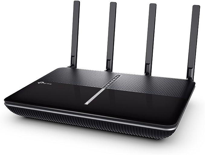 TP-Link Archer C3150 - Router inalámbrico para Juegos de Cable Gigabit MU-MIMO inalámbrico de Doble Banda, procesador de Doble núcleo a 1.4 GHz, ...